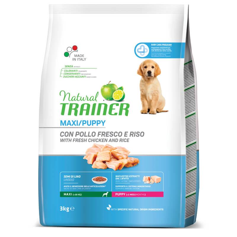 Trainer Natural Puppy Maxi - sveži piščanec 3 kg
