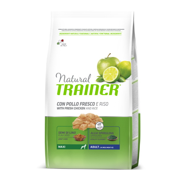 Trainer Natural Adult Maxi - sveži piščanec 3 kg