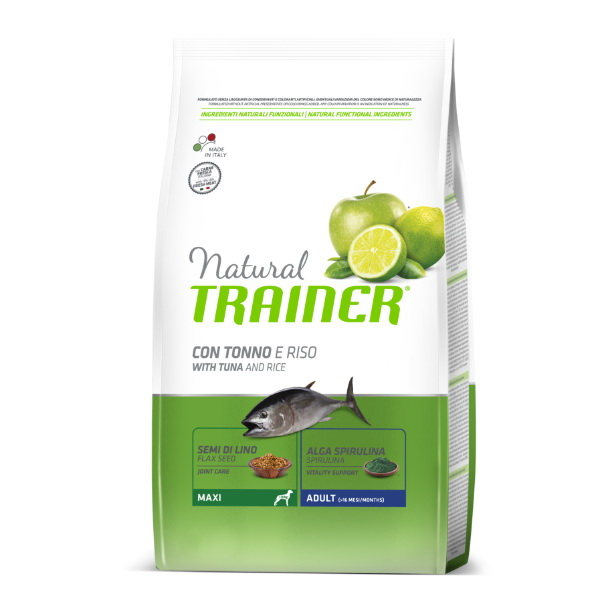 Trainer Natural Adult Maxi - riba in riž 3 kg