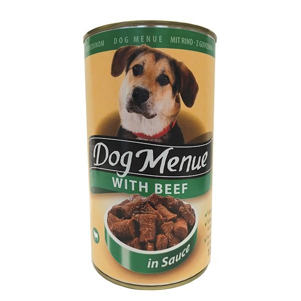 Dog Menu - govedina