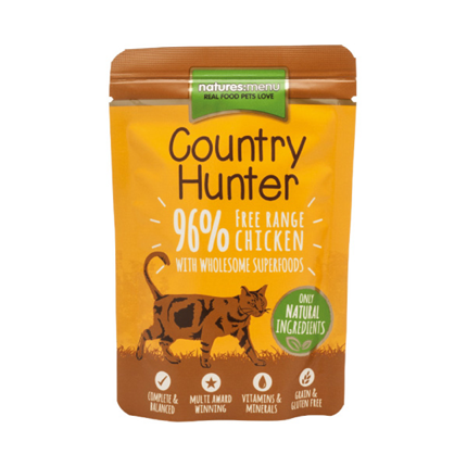Natures Menu Country Hunter - piščanec proste reje - 85 g
