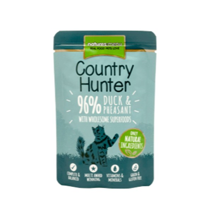 Natures Menu Country Hunter - raca in fazan - 85 g