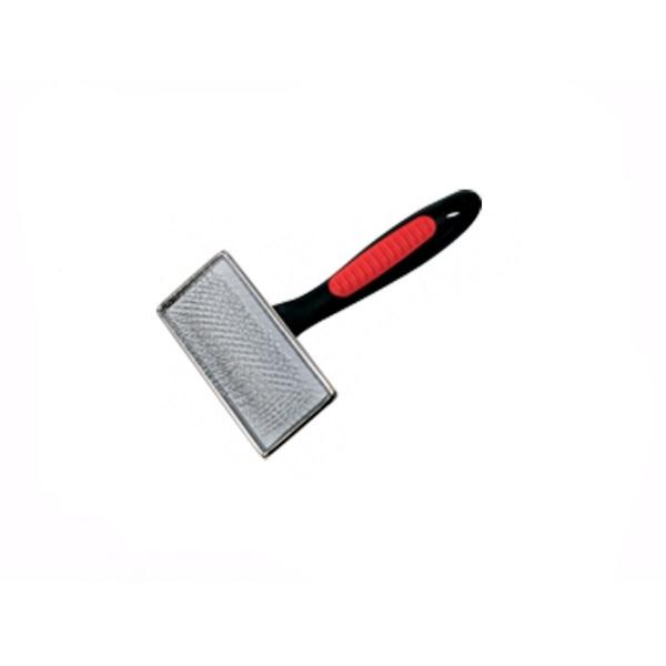 Camon kovinska krtača krive igle/bunkice S - 8,5x4,5 cm