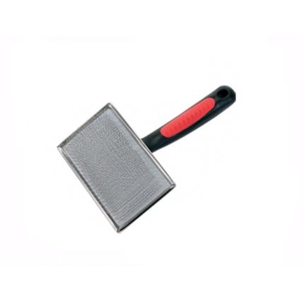 Camon kovinska krtača krive igle/bunkice M - 10,5x5 cm