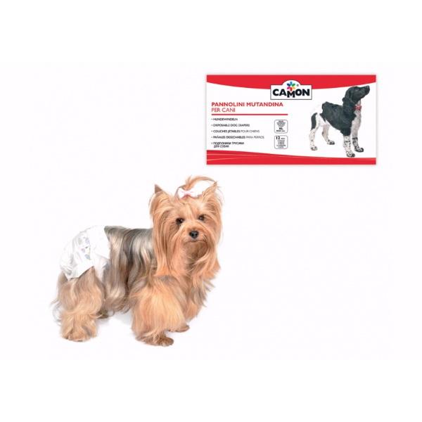 Camon plenice za pse - obseg pasu 45-55 cm (12 kos)