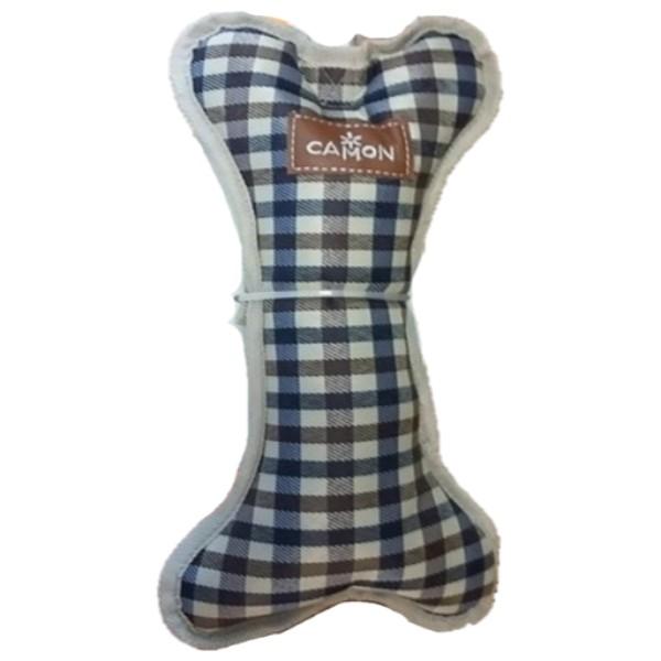 Camon igrača tekstil kost, karo - 30 cm