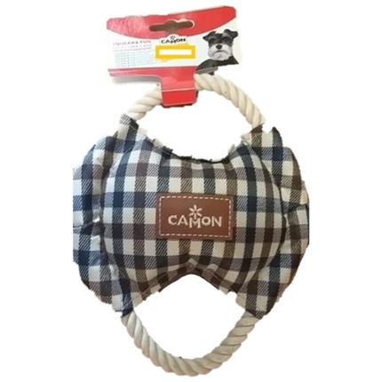 Camon igrača tekstil in vrv, okrogel frizbi