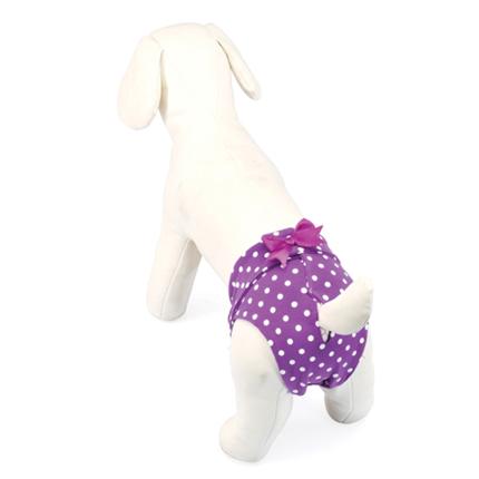 Camon hlačke za psičke, vijola pike - 26 cm