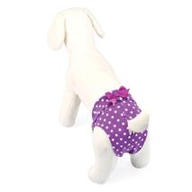 Camon hlačke za psičke, vijola pike - 36 cm