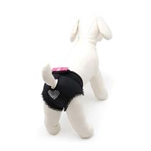Camon hlačke za psičke, črne - 35-40 cm