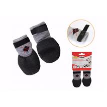 Camon non-slip nogavice, črne lateks podplat - L (2 kos)
