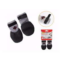 Camon non-slip nogavice, črne lateks podplat - XL (2 kos)