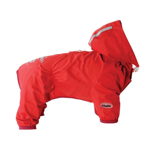 Camon dežni plašč Trilly - rdeč 45 cm