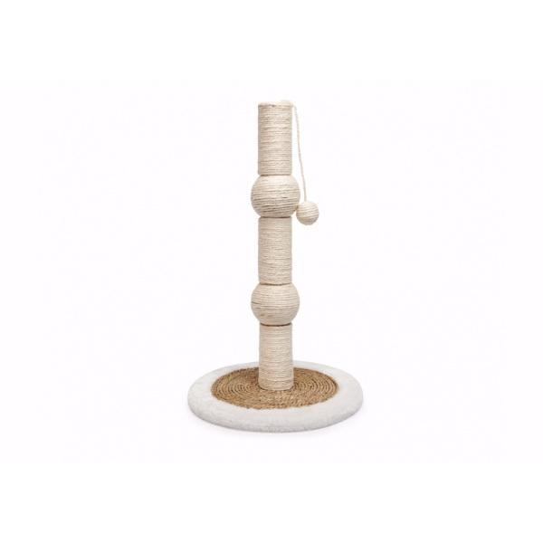 Camon praskalnik steber/krogle, bel - 35x57 cm