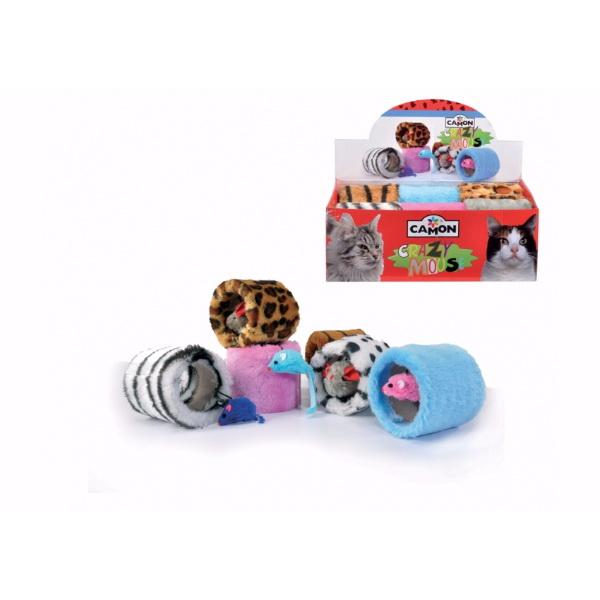 Camon igrača valj z miško - 9 cm