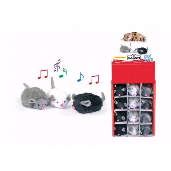 Camon igrača piskajoča miš - 7 cm