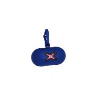 Camon nosilec za drečke (vrečke za iztrebke) Mini, moder - 10 vrečk