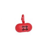 Camon nosilec za drečke (vrečke za iztrebke) Mini, rdeč - 10 vrečk