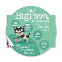 Little Big Paw alucup mousse - morske ribe - 85 g