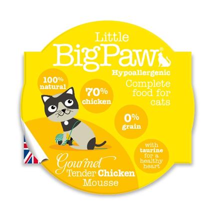Little Big Paw alucup mousse - piščanec - 85 g