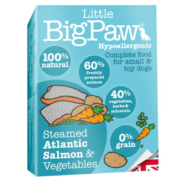 Little Big Paw alu posodica - losos in zelenjava 150 g