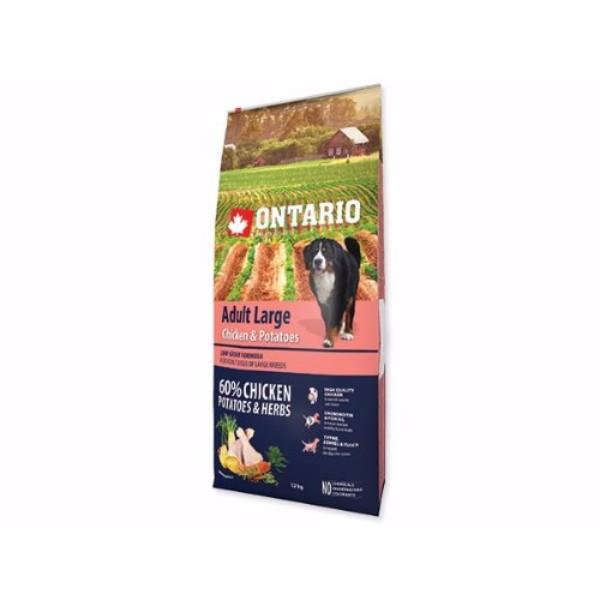 Ontario Adult Large - piščanec in krompir 12 kg