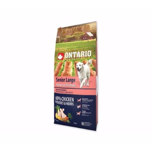 Ontario Senior Large - piščanec in krompir 12 kg