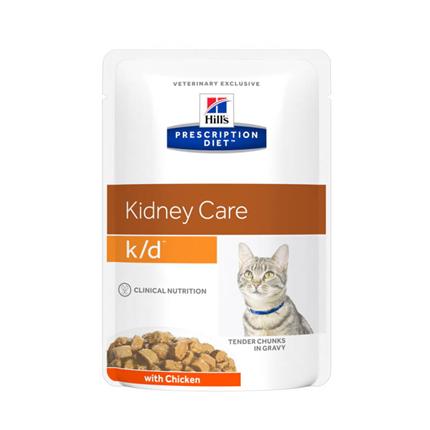 Hill's veterinarska dieta k/d, vrečka - piščanec - 85 g
