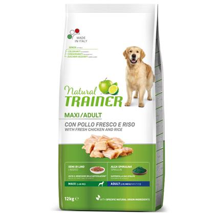 Natural Trainer Adult Maxi - sveži piščanec