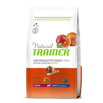 Trainer Natural Adult Medium - pršut in riž