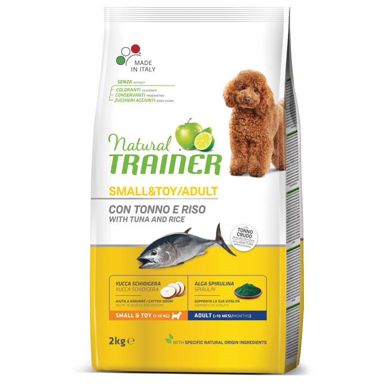 Trainer Natural Adult Small - riba in riž
