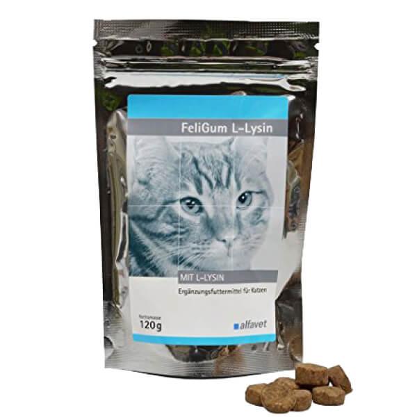 FeliGum L-Lysin za mačke - 120 g
