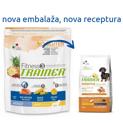 Trainer Fitness3 Adult Mini - losos in koruza