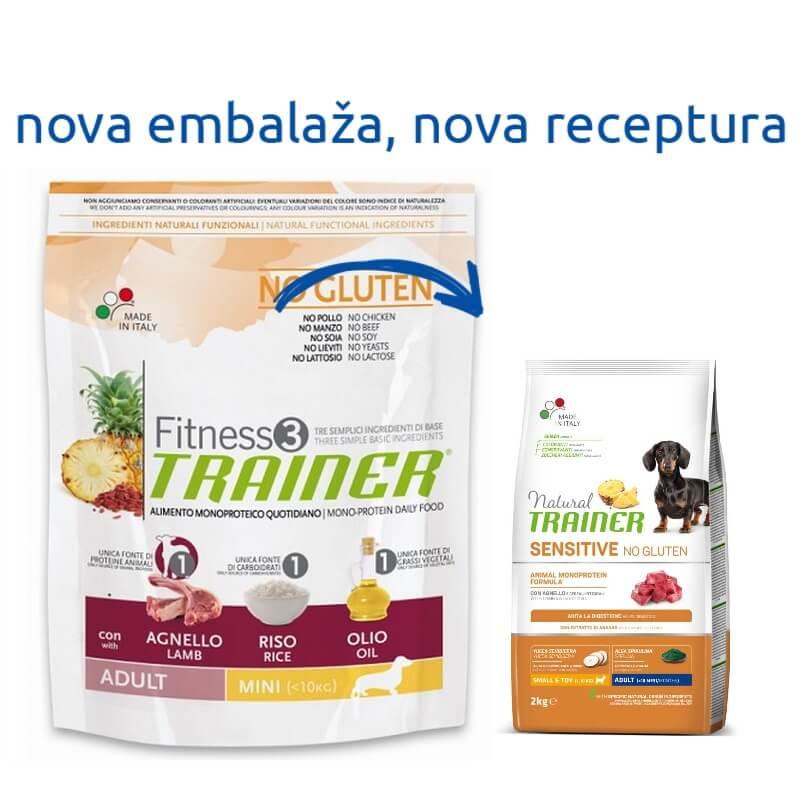Trainer Fitness3 Adult Mini - jagnjetina in riž