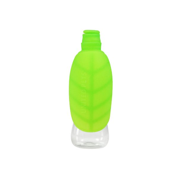 United Pets potovalna steklenica Leaf, zelena - 500 ml