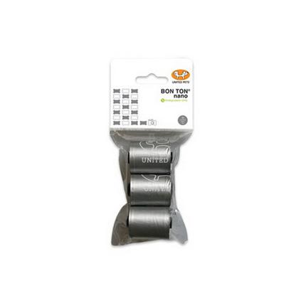United Pets drečke (vrečke za iztrebke) Nano, metal - 3 x 10 vrečk