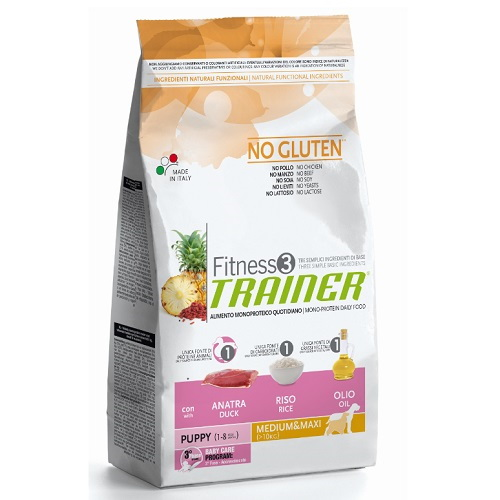 Trainer Fitness3 Puppy Mini - raca in riž 3 x 2 kg