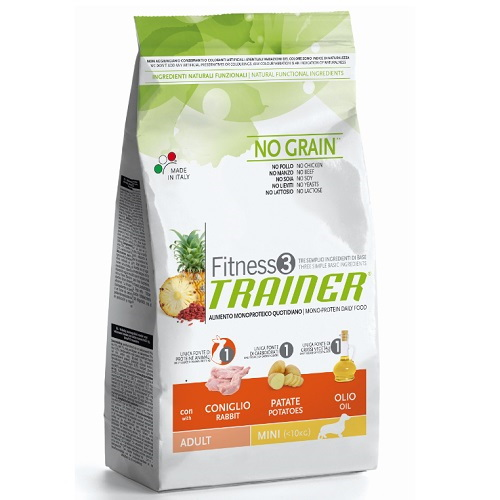 Trainer Fitness3 Adult Mini - zajec in krompir 3 x 2 kg
