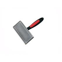 Camon kovinska krtača krive igle/bunkice XL - 11x7 cm