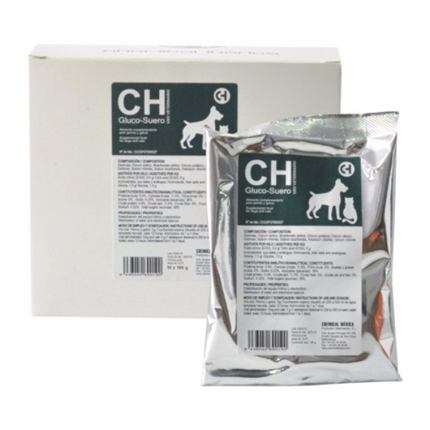Gluco Suero, elektroliti v prahu za pse in mačke - 100 g