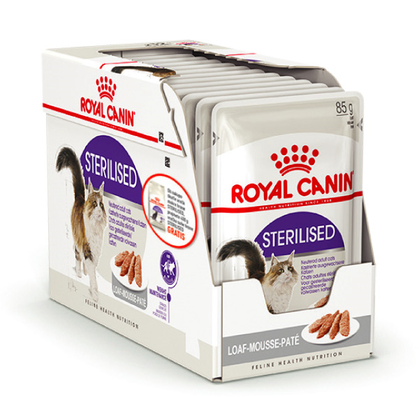 Royal Canin Adult Sterilised - pašteta 12 x 85 g