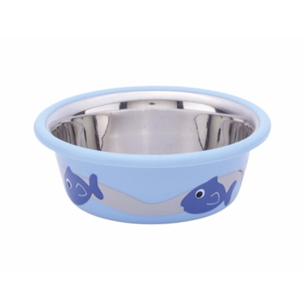 Nobby posoda Cutie ribica, svetlo modra - 0,25 l