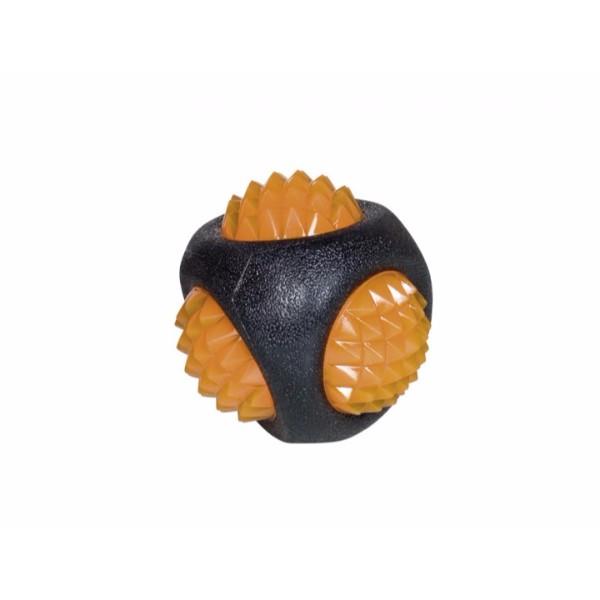Nobby TPR žoga z lučko Diamond - 7,5 cm