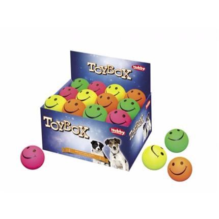 Nobby žoga Smiley, guma - 7,2 cm