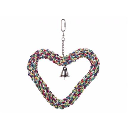 Nobby obroč iz vrvi srce - 13 cm