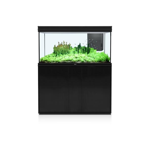 Aquatlantis omarica Fusion 120, črna - 120x50x83 cm