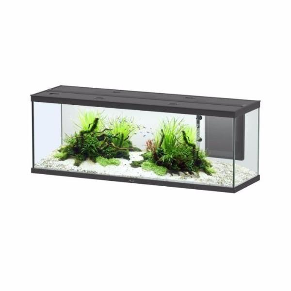 Aquatlantis akvarij Style LED 150 (365 l), črn mat - 150 x 45 x 54 cm