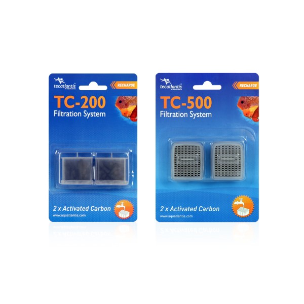 Aquatlantis rezervni vložek aktivno oglje za filter TC200 (2 kos)