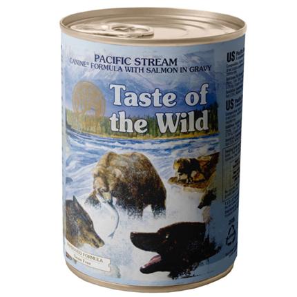 Taste of the Wild Pacific Stream - losos - 390 g