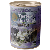 Taste of the Wild Sierra Mountain - jagnjetina - 390 g